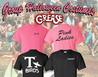 c1221ebbb Halloween Group Costumes   Group Costumes   Grease Movie   Halloween T  Shirts   Grease Movie Halloween   Custom Group Costumes