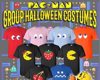 e21acad80ec Halloween Group Costumes   Group Costumes   Pac Man   Halloween T Shirts    Pac Man Fever Halloween   Custom Group Costumes