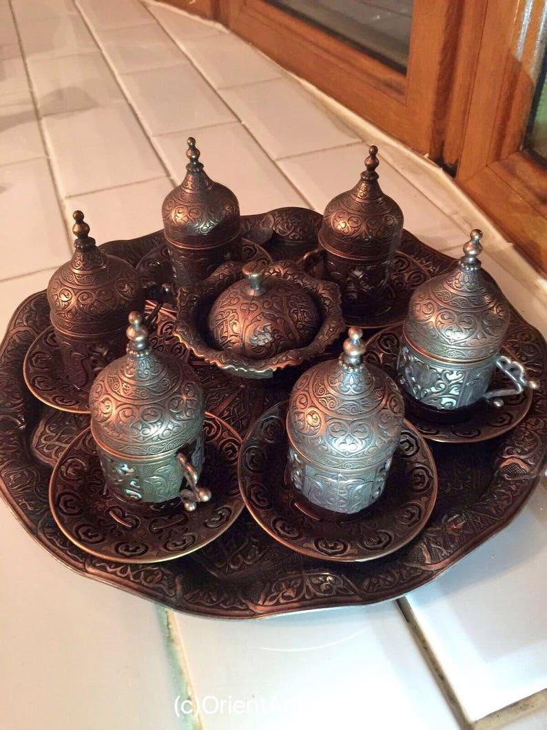 Espresso set Espresso coffee cup Vintage Coffee set Turkish Coffee sets Turkish Coffee Coffee mugs moroccan tea Coffee Set