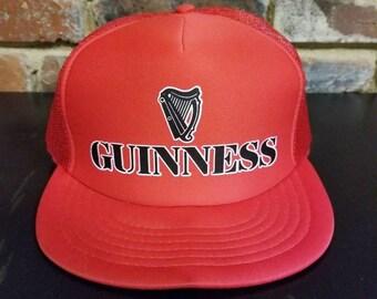 Vintage Guiness Snapback Hat