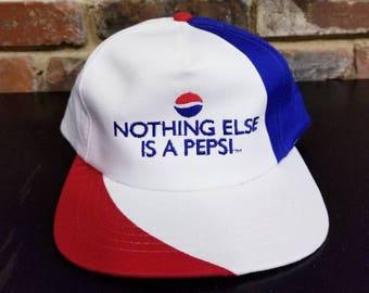 Vintage 'Nothing Else is a Pepsi' Snapback Hat