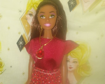 Barbie Red skirt and blouse 116B
