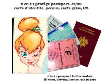 peter pan 01-001  étui pochette carte grise carte d/'identité permis