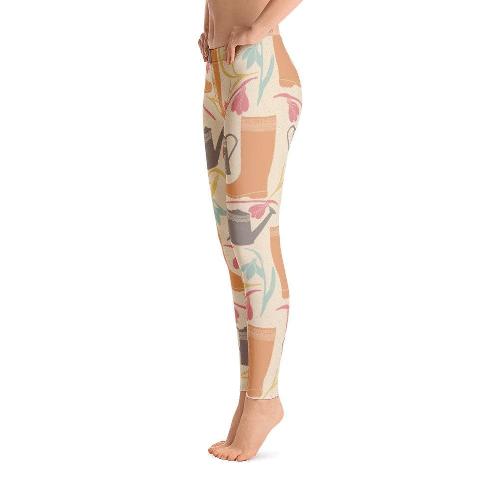 Flower Leggings    botas  Yoga Pants Planting Print Garden Leggings For Girls and Mujer - Regular High Waist Capri and Yoga Shorts 3b781f