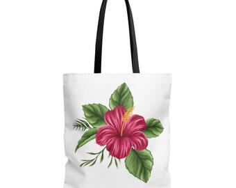 Bag Tropical Flower
