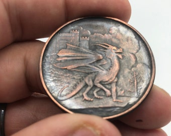 Celtic Lore Challenge Coin #1