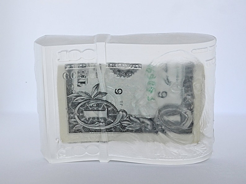 MONEY SOAP Real Cash in Soap Graduation Gift Stocking image 0