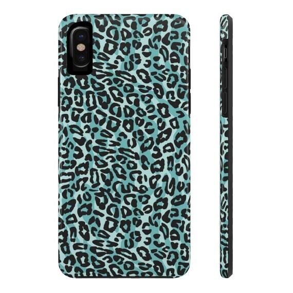 leopard print iphone xr case