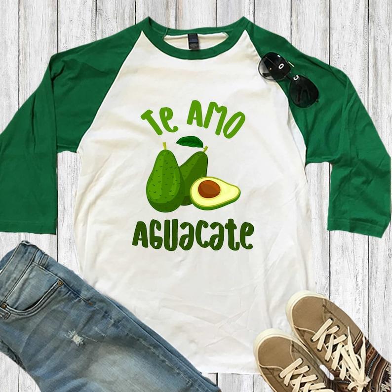 5572ec7b25 Te Amo Avocado Foodie Gifts Best Avocado Lover Funny | Etsy