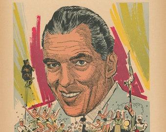 The Ed Sullivan Show Limited Edition Print