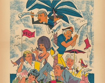 Gilligan's Island Limited Edition Print