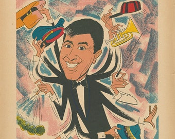 The Wacky World of Jerry Lewis Limited Edition Print