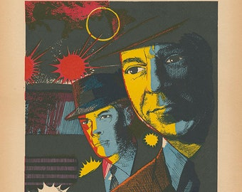Dragnet Limited Edition Print