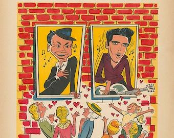 Frank Sinatra, Welcome Home Elvis