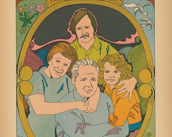 All In The Family Limited Edition Print