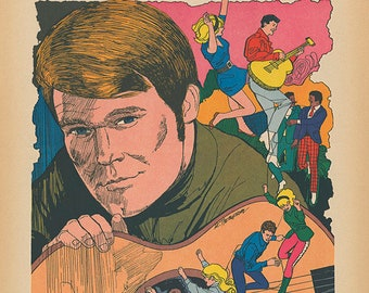 The Glen Campbell Goodtime Hour Limited Edition Print