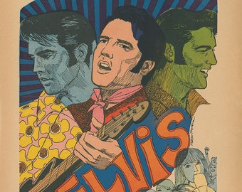 The Elvis Presley '68 Comeback Special Limited Edition Print