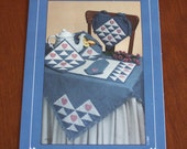 Heartspun Pattern for Quilted Tablecloth, Table Runner, Placemats, Etc