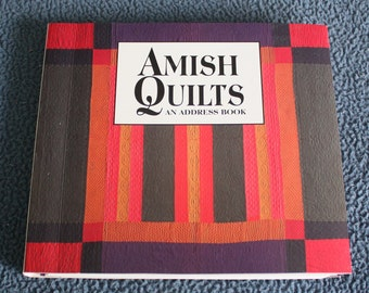 72fe24e8 Amish Quilts Address Book