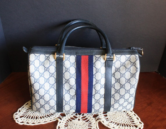 Gucci Hand Bag Vintage 1970's Authentic Rare - image 2
