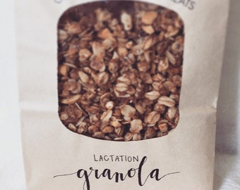 Organic Lactation Granola - Coconut Cashew - Vegan, Gluten-free, Soy-free - Perfect Gift for Nursing Moms, Hungry Dads, and Little Ones