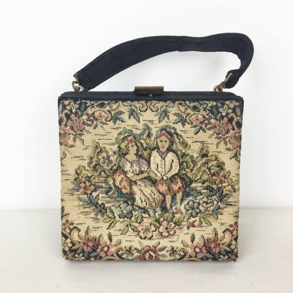 Mini Needlepoint Handbag