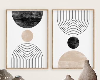Unframed Modern Wall Art Scandinavian Print Minimalist Art Mint And Gray Print Geometric Art Wall Prints 8 x 10 Watercolor Abstract Geometric Print Geometric Wall Art