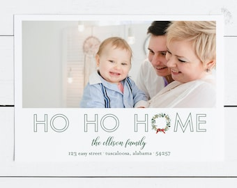 more the merrier christmas card new baby christmas card new etsy
