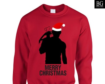 Walking Dead Christmas Sweater.Daryl Dixon Sweater Etsy