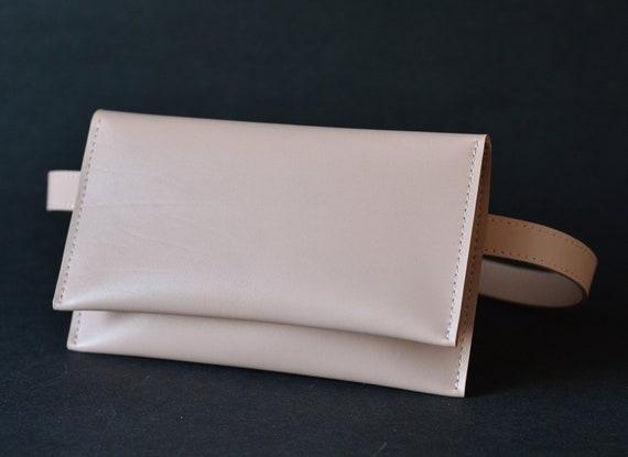Frauen Handtasche Leder LedertascheFanny Pack FrauenMinimalistische Taille TascheKleine Tasche Erröten Gürtel ZTOPiXuk