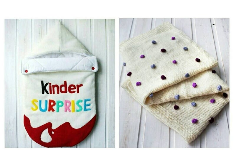 Swaddle set Kinder surprise Baby sleeping bag Sleep sack Baby  718eefcb1