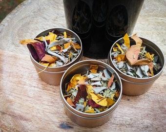 Ancestor's Altar Loose Incense & Coal Disk · Ancestral Altal · Ancestry · Herbal Incense · Ancestral Shrine · Ancestor Money