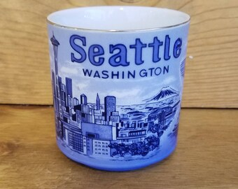 Seattle Washington Tourist Mug