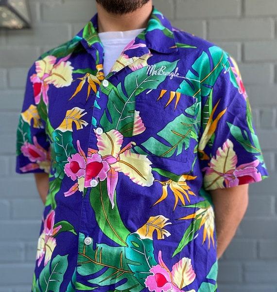 Vintage Mr Bungle Hawaiian Aloha Shirt Faith No Mo