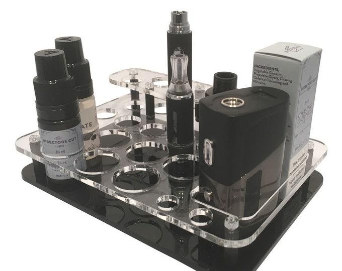 Cleoromiser & Pen Battery Vape Stand - Electronic Cigarette Holder - Ego Styled Vape Stand