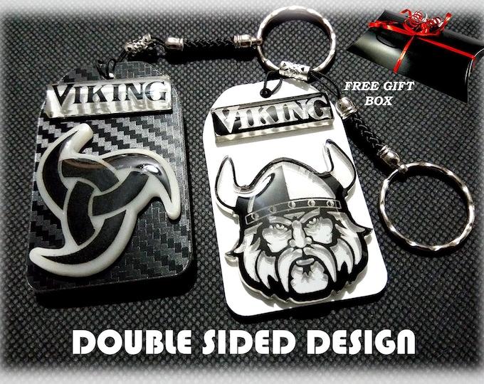 Viking 3D Keyrings – 3D Bag Charms – Great Designer Gifts - Key Charms