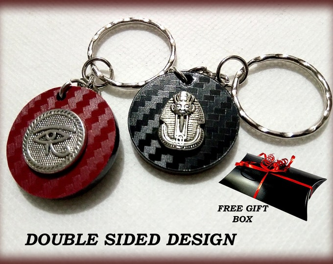 Egyptian 3D Keyrings – 3D Bag Charms – Great Designer Gifts - Key Charms