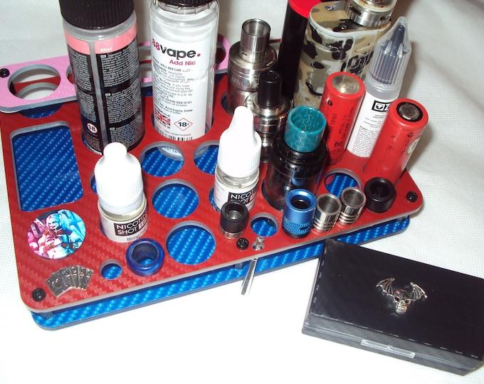 The Harley Quinn Design Vape Stand - E Cig Holder - Vape Organizer + FREE Battery Case