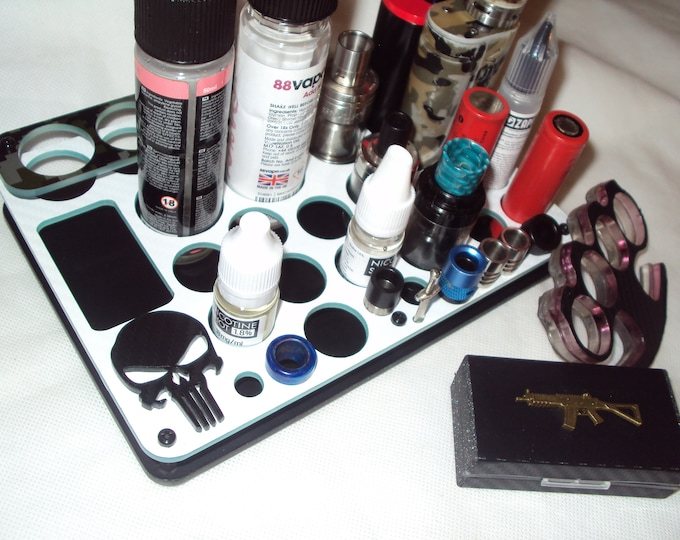 The Punisher Vape Stand - Vape Accessory Display - Designer Vape Stands