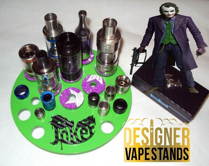 Batman & The Joker Vape Stand - E Cig Holder - Vape Organizer + FREE Battery Case