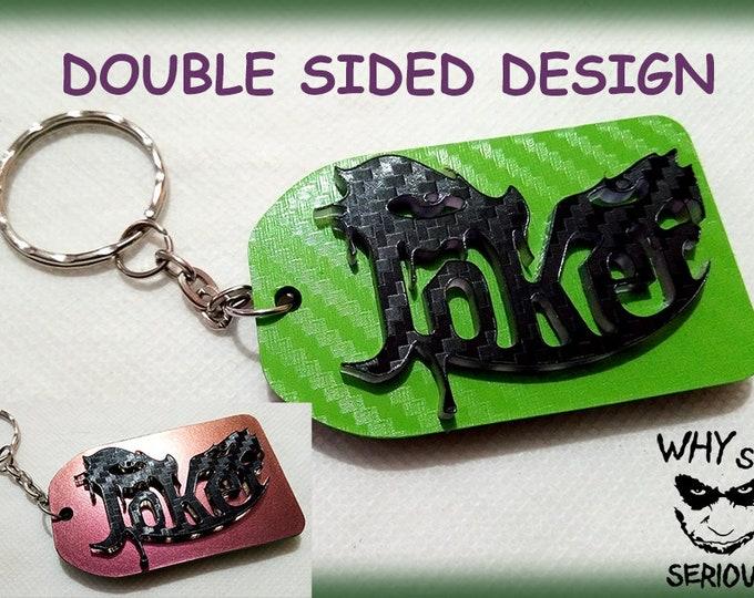 Joker 3D Keyrings – 3D Bag Charms – Great Designer Gifts - Key Charms