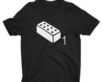 One Brick T-Shirt (inspired by The Last Of Us) - Premium Fitted Next Level CVC Crew Blend