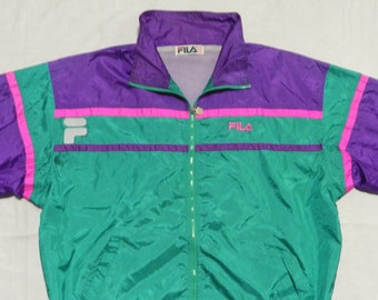 5e43b8c42520 FILA RARE VINTAGE 90s Tracksuit Top jacket and Trouser
