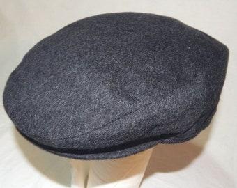 Borsalino Alpaca  Wool eccellente rari uomini Vintage berretto piatto  cappelli 81d56f8198ce