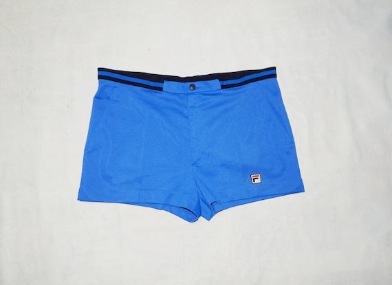 FILA Vintage 80s Italia Adult's Tennis Shorts . Si