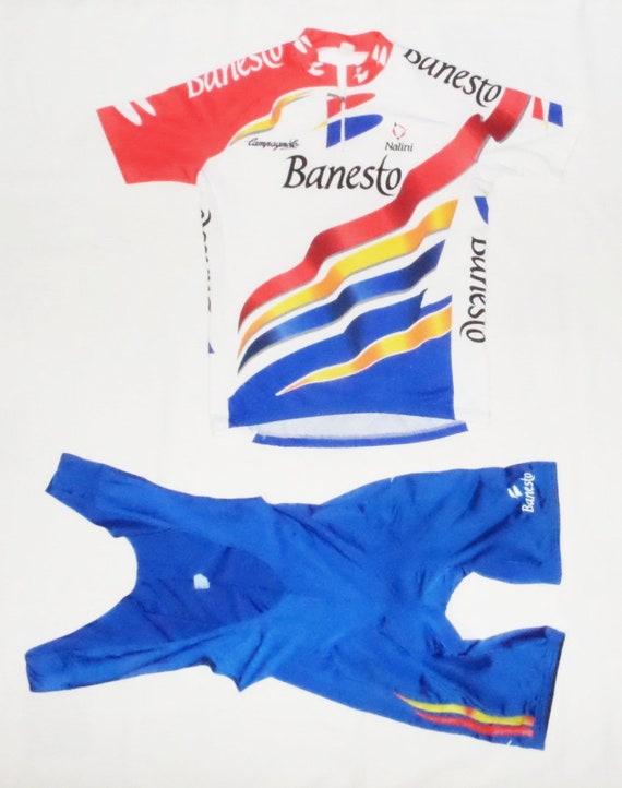 Banesto Cycling Team ,Exc.ellent VTG 1997s Cyclin… - image 2
