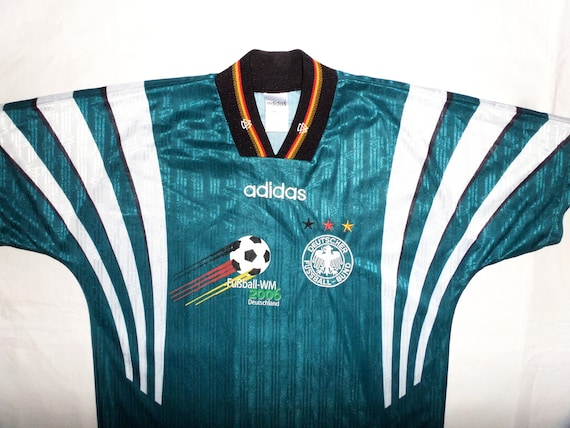 1996 98 Germany Adidas Track Jacket (Good) LXL