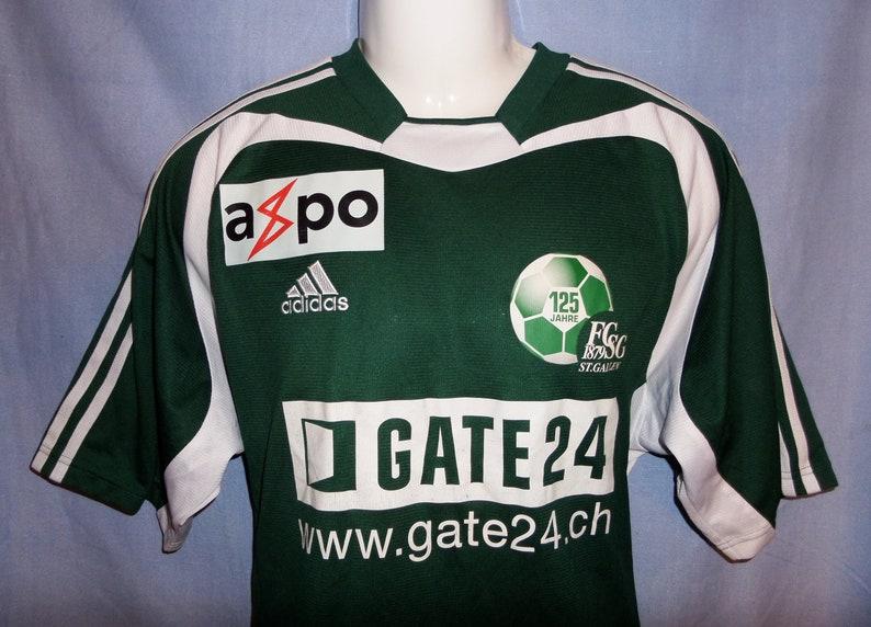8188f2a15b9 FC St Gallen SwissRare 2004/05 CELEBRATIVE Football team Home   Etsy