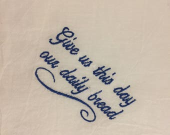 Our Daily Bread - Basket Liner
