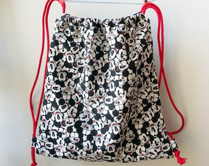 Mickey cloth children's backpack